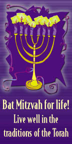 Preview of Bat Mitzvah for Life!