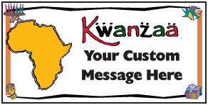 "Preview of Customizable: ""Kwanzaa with Africa"""